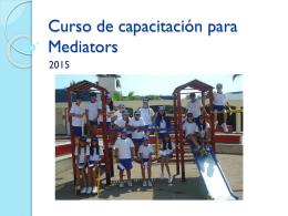 Curso de capacitación para Mediators