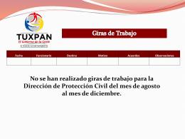 Protección civil.