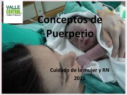 Conceptos de Puerperio (955202)