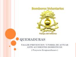 QUEMADURAS - club de ecoguardianes