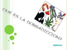 regresar - drogadixon