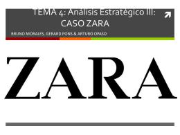 TEMA 4: Análisis Estratégico III: CASO ZARA