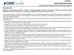 CV Diego Armando Vielma 01302012
