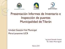 Presentación Munic Tilaran