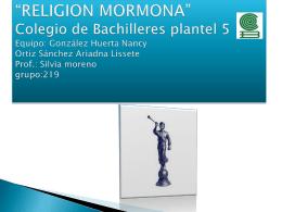 presentacion de la religion mormona