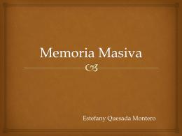 Memoria Masiva - Organizaciones