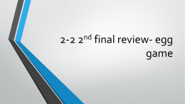 2-2 2nd final review