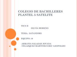 COLEGIO DE BACHILLERES PLANTEL 5 SATELITE
