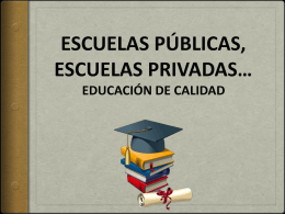 educación de calidad es