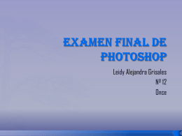 Examen Final De Photoshop.