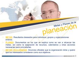 Entorno Global y Planeación Parte 2