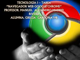 TECNOLOGÍA I – TAREA - greciacg-1b