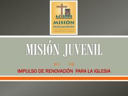 MISIÓN JUVENIL