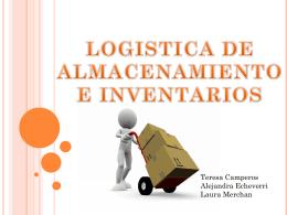 logistica de almacenamiento e inventarios