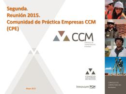 CPE - Consejo de Competencias Mineras