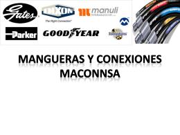 CATALAGO MACONNSA - Mangueras y Conexiones