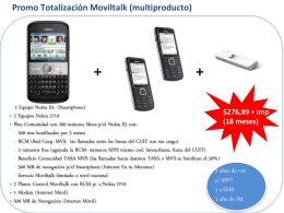 Totalización MovilTalk