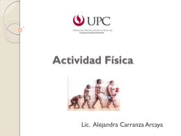 Actividad Física - Dirección de Salud II