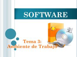 El Software: Tipos y características