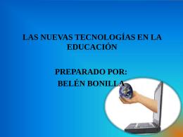 Tecnologias de la Educación