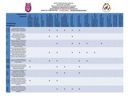 Matriz de competencias sexto nivel técnico en metalurgia