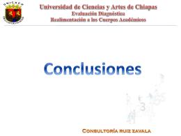 Evaluación_diagnóstica_CA - Universidad de Ciencias y Artes