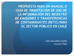 propuesta para un manual o guía de orientación de uso de la