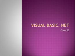 Visual Basic. net
