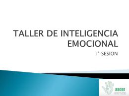 ntroduccion a la inteligencia emocional nociones basicas