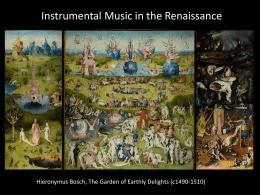 instrumentally Variations