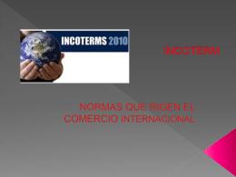 NORMAS INCOTERM.