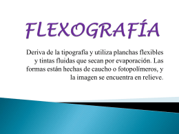 FLEXOGRAFÍA - Monica