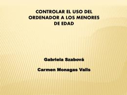 CONTROLAR EL USO DEL ORDENADOR A LOS MENORES DE