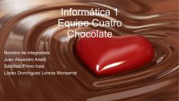 i Equipo Cuatro Chocolate