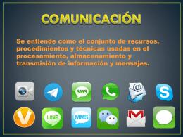 Presentación comunicación. Alejandro Cano e Irene