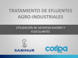 tratamiento de efluentes agro-industriales