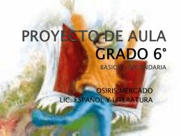 PROYECTO DE AULA 2