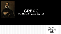 biography of greco