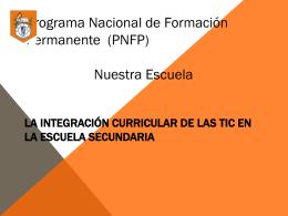 Educacion y Tics - Escuela Tecnica Nro 5