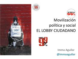 Lobby Ciudadano. Escuela diplomática. Madrid
