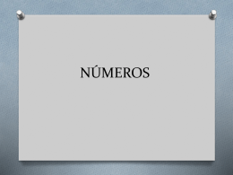 NÚMEROS. 1 - 20 ppt (1411462)
