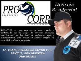 Slide 1 - PRO-CORP