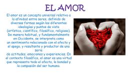 EL AMOR (1163395)