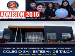 Descarga Power Point - Colegio San Esteban