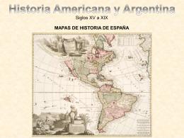 Mapas de la Historia de España