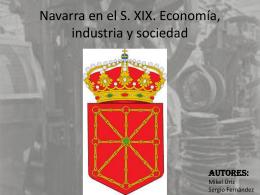 Navarra Siglo XIX Mikel y Sergio