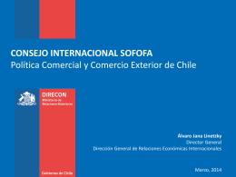 Datos económicos - Chile Alimentos
