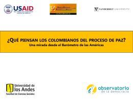 Primera Encuesta Nacional sobre el Proceso de Paz v12.1