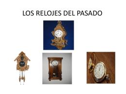 relojes de péndulo - 2010-UESJLS