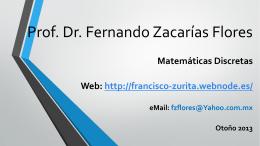 Prof. Dr. Fernando Zacarías Flores